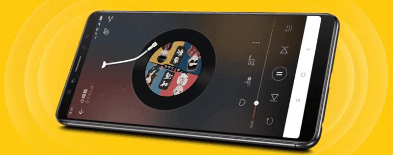 Lenovo k5 Pro with stereo speakers