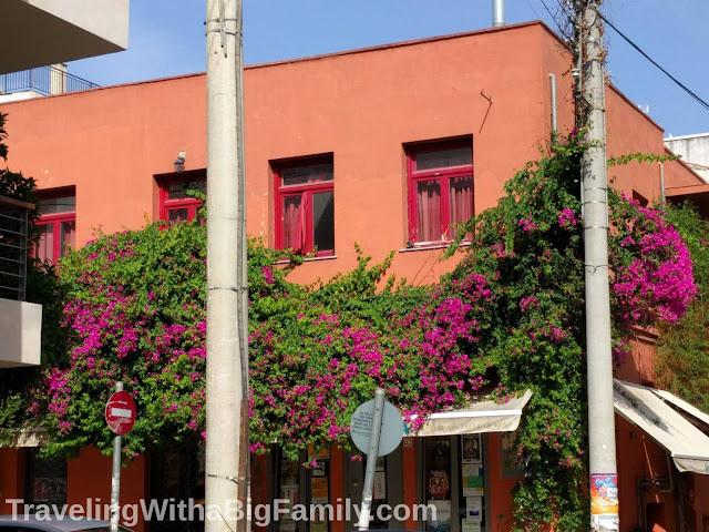 Big family travel to Greece