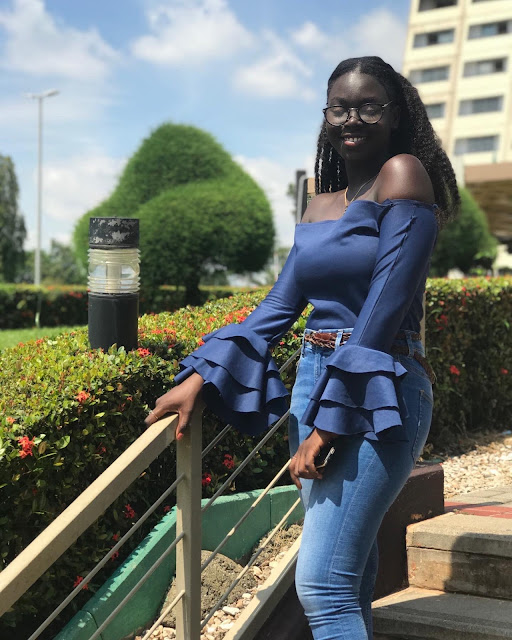 Stunning Black-Beauty: Check Out The Lovely Photos Of This Dark Lady