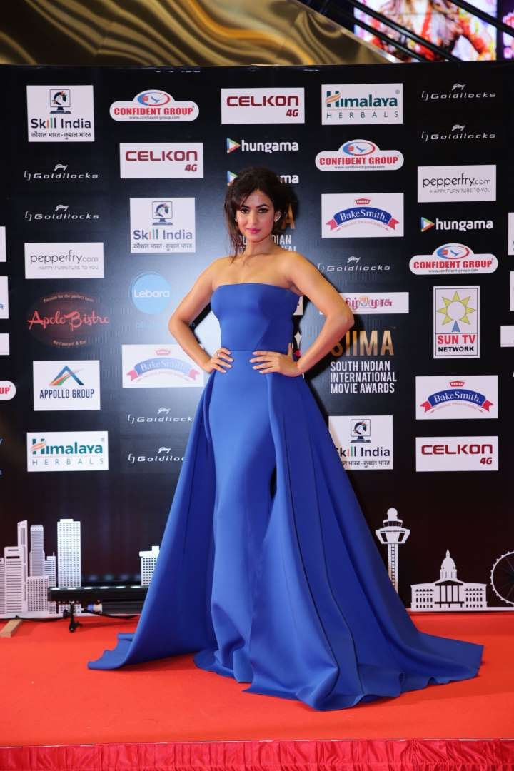 Sonal Chauhan was among the Bollywood celebrities at the event