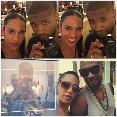Usher Raymond and his Wife/Manager Grace Miguel are expecting their First Child!