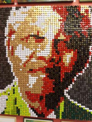 Bottle top Mandela  - Home Is Where The Art Is - Zeitz MOCAA
