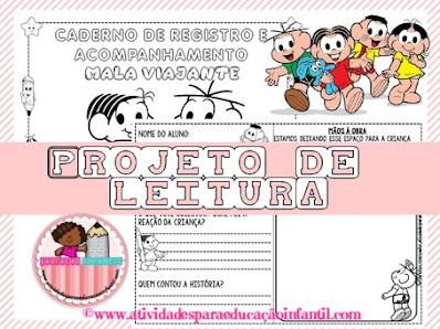 Projeto de leitura educação infantil