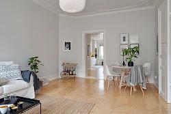 gris blanco decorar estilo elegante impecablemente