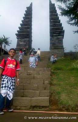 Candi Cetho, Candi di Atas Kahyangan berasa di Bali