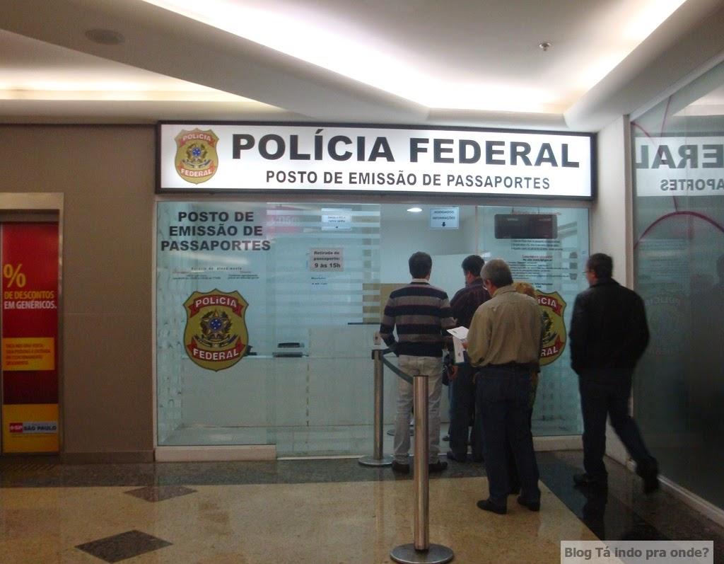Polícia Federal no Campinas Shopping