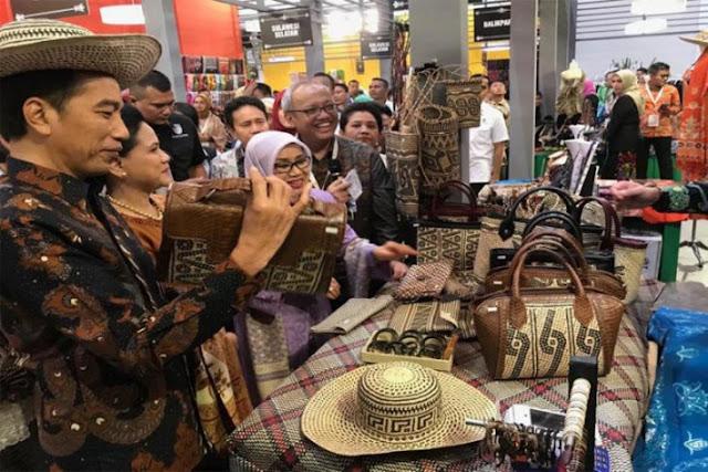 Presiden Jokowi menyukai produk ini dari Kalimantan Tengah