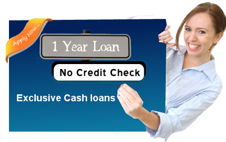 1 Year Loan No Credit Check