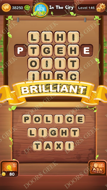 Word Bright Level 146 Answers, Cheats, Solutions, Walkthrough for android, iphone, ipad and ipod