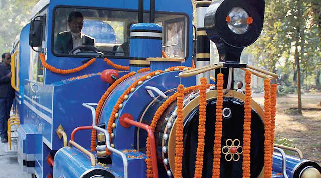Trackless Toy Trains for north Bengal parks