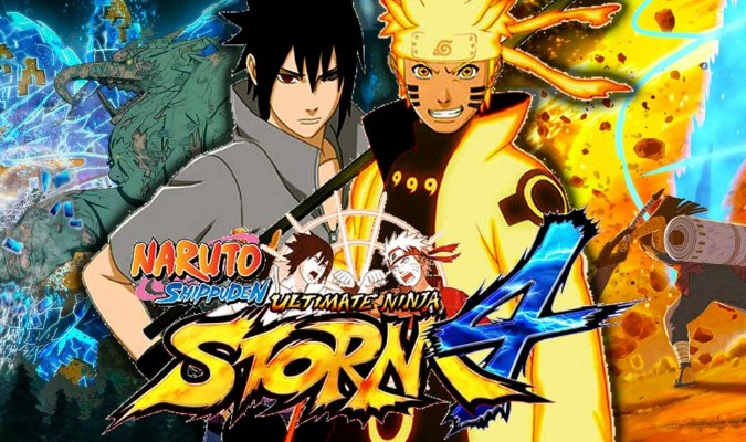 Game Adaptasi Anime Terbaik untuk Windows - Naruto Shippuden: Ultimate Ninja Strom 4