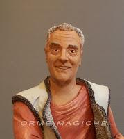 statuina ritratto realistico modellino da foto nonno ricordo orme magiche