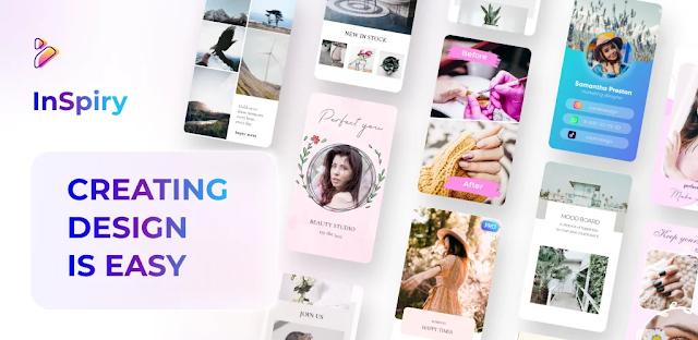 تنزيل تطبيق  Inspiry - Stories Editor for Instagram تطبيق إنشاء قصص انستقرام  للاندرويد