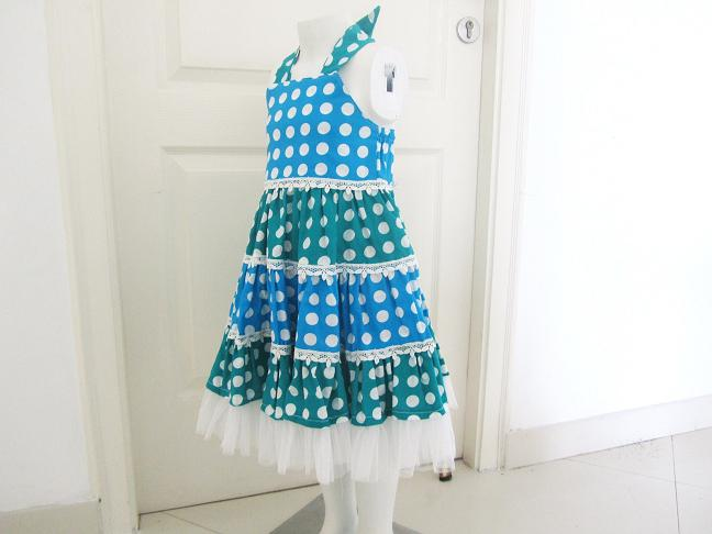 Sewing Patterns for Girls Dresses and Skirts: Sewing Pattern Tiered ...