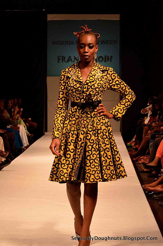 Nigeria Fashion Week Runway 2011 Pictures Frank Osodi Saves The Day Seriously Doughnuts