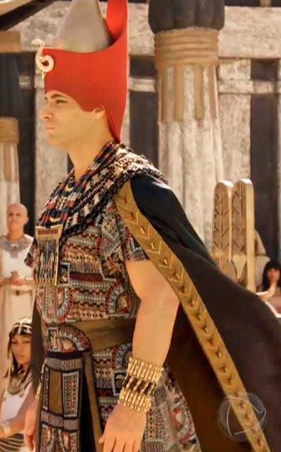 Cena coroação do Farao em Gênesis