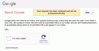 gambar 2 Google Sudah Berhenti Mendukung Pengiriman URL Publik ke Indeks Pencariannya