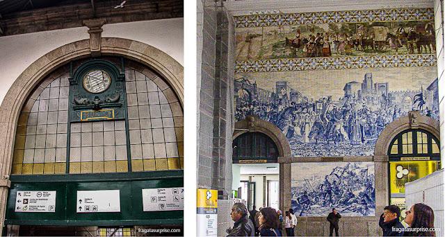 A Estação São Bento, Porto, Portugal