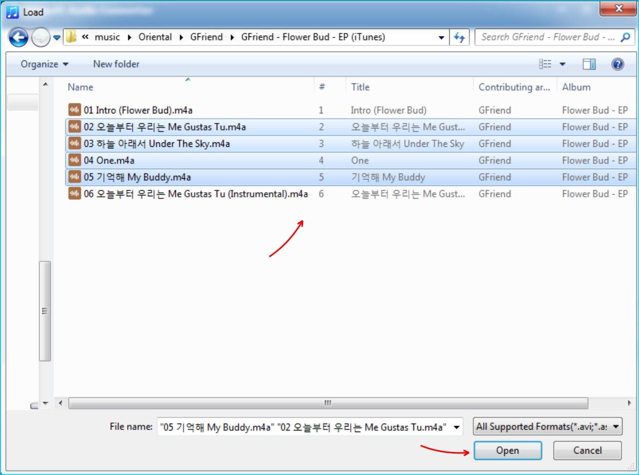 Faasoft Audio Converter - Cari File Yang Akan Diconvert