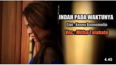 Lirik Lagu Rohani Mitha Talahatu - INDAH PADA WAKTUNYA