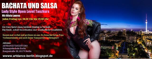 Bachata und Salsa Lady Style in Berlin