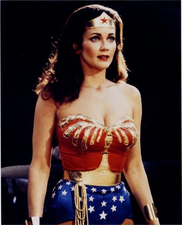 Linda Carter dans la série Wonder woman