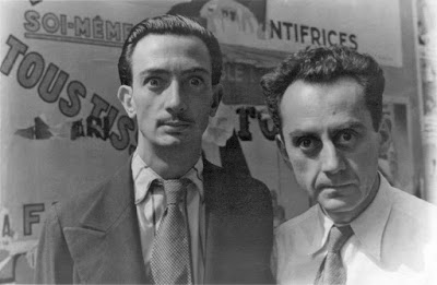 Dalí and MANRAY - contemporaneously