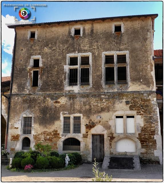 DOMMARTIN-SUR-VRAINE (88) - Château (XVe-XVIe siècles)