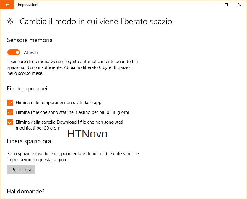 Sensore-memoria-Windows-10