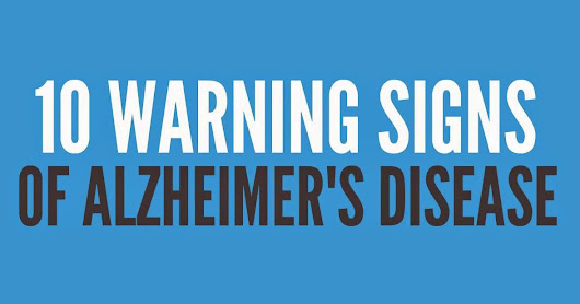 Warning Signs of Alzheimer's with Examples