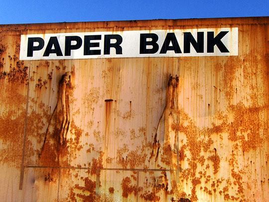 urban photography, urban photo, rust, urban decay, paper bank, contemporary, art, Sam Freek, industrial,