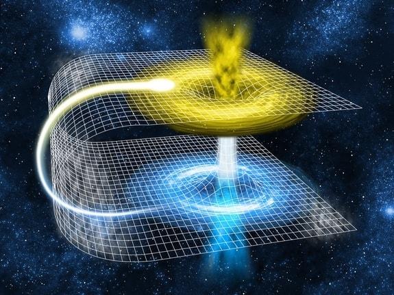 عالم الكواكب والمجرات هل يمكن السفر عبر المجرات في النسبية لآينشتاين لا