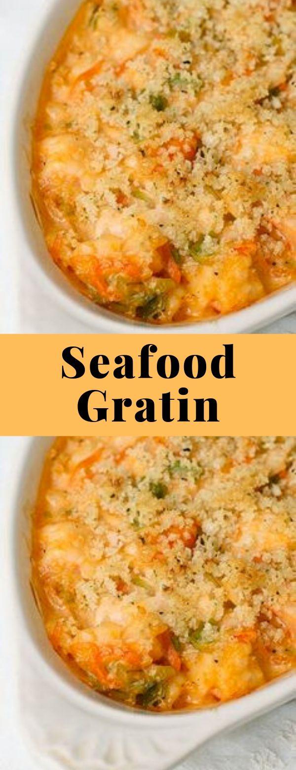 Seafood Gratin #seafood