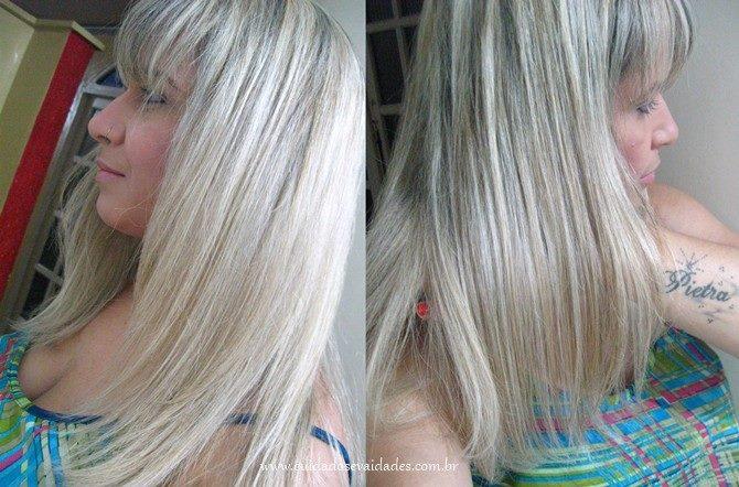 Antes e Depois Matizadores Violetha Andirah Brasil