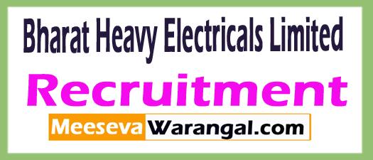 BHEL Bharat Heavy Electricals Limited Recruitment