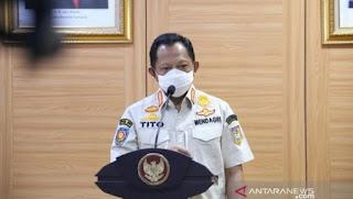 Mendagri Tito Karnavian Dikabarkan Positif Corona, Tadi Rapat Sama Mahfud