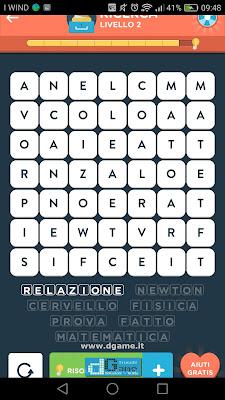 WordBrain 2 soluzioni: Categoria Ricerca (7X7) Livello 2