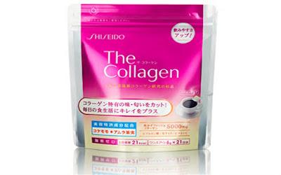 Cách uống collagen dạng bột shiseido Nhật Bản