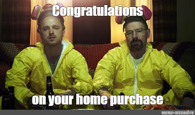 congratulations on your new home meme