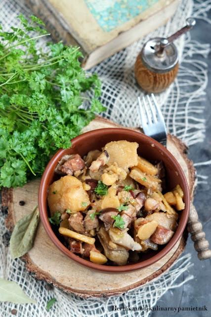 prazonki, duszonki, prazone, bernika, ziemniaki, zapiekanka, wolnowar, kulinarny pamietnik