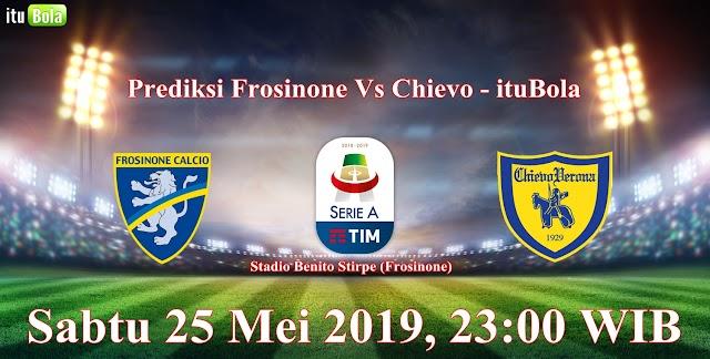 Prediksi Frosinone Vs Chievo - ituBola