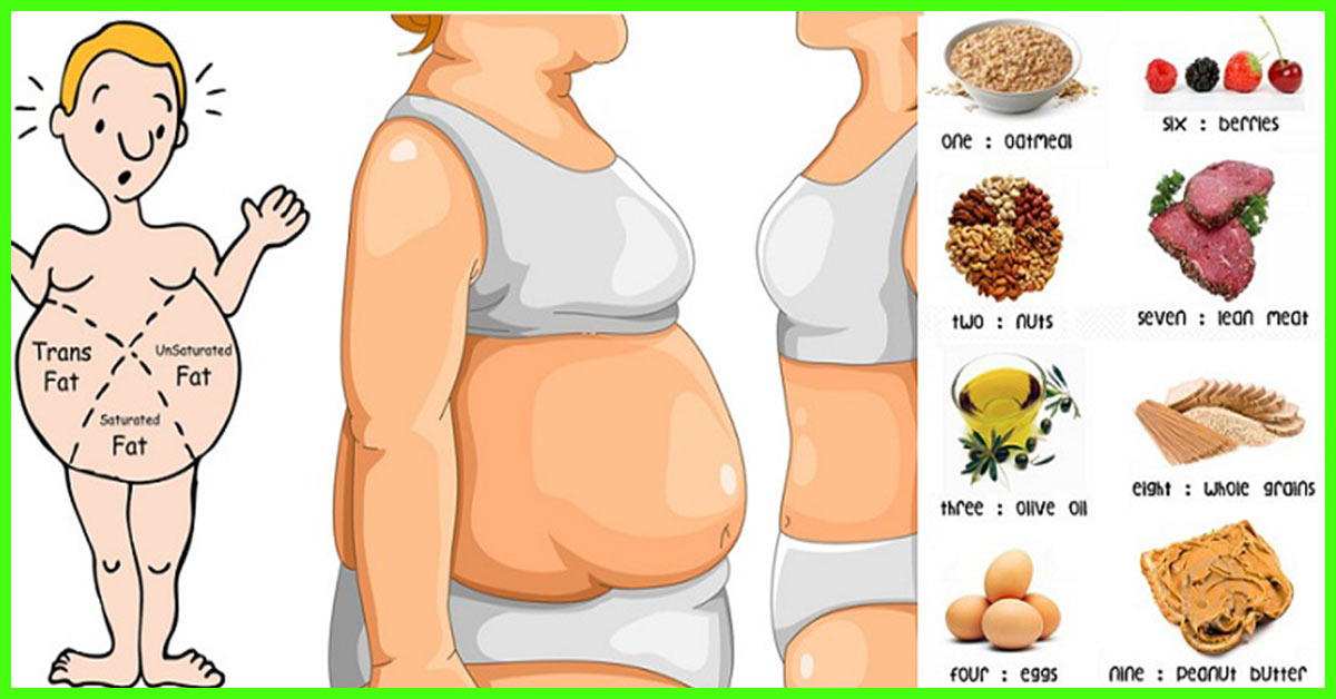 Foods To Avoid Getting Belly Fat