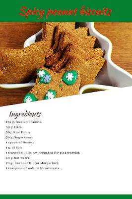 spicy peanut biscuits glutenfree recipe