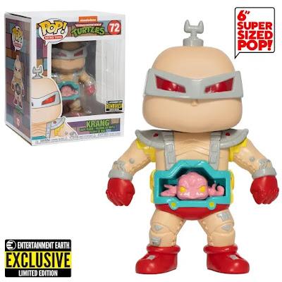 """Entertainment Earth Exclusive Teenage Mutant Ninja Turtles Krang 6"""" Pop! Vinyl Figure by Funko"""