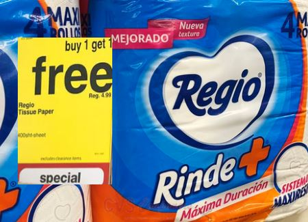 Cheap Regio Toilet Paper CVS Deals 11/22-11/28