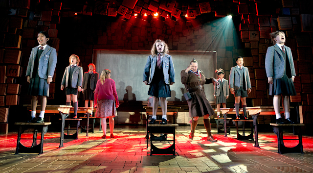 Musical Matilda na Broadway em Nova York