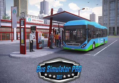 Free Download Bus Simulator PRO 2017 v1.2 Apk Data