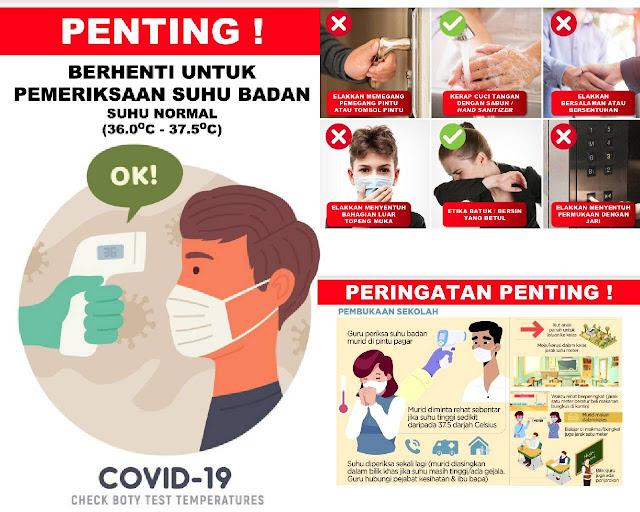 senarai poster covid 19 oleh Cikgu Ahmad Idrus