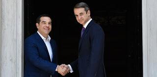 Ο Αλέξης Τσίπρας ορκίζεται ξανά πρωθυπουργός για να μην ισοπεδωθεί η Ελλάδα από τις θεομηνίες