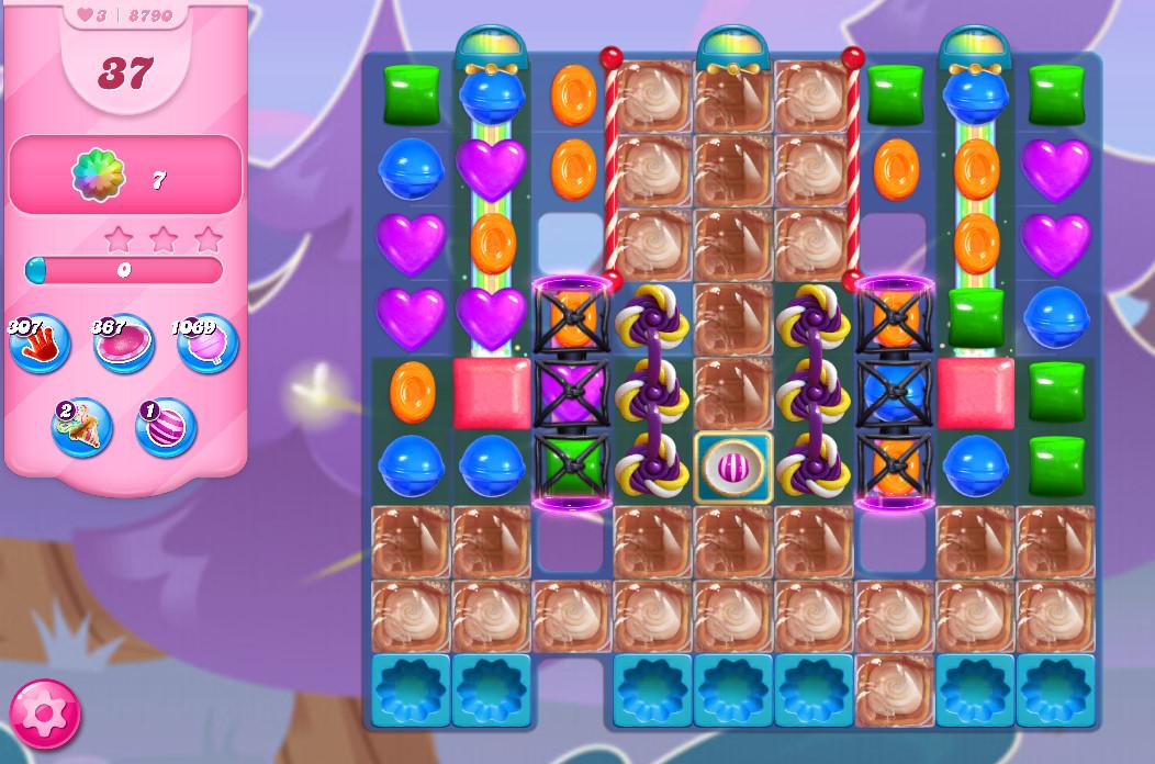 Candy Crush Saga level 8790